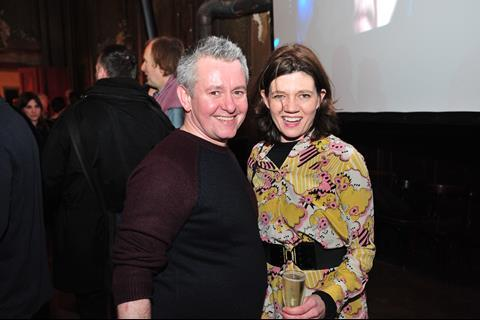 Robbie Allen, Creative Scotland, with Isabel Davis,BFI